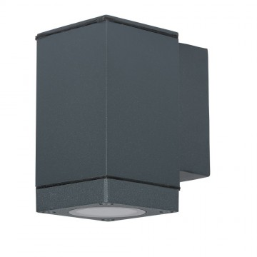 Aplique de Pared GU10 DOWN Gris IP44