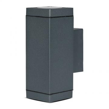 Aplique de Pared GU10 UP-DOWN Gris IP44
