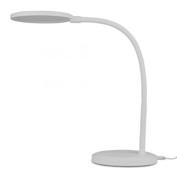 Lámpara de mesa LED 7W Dimmable 3000K cuerpo blanco