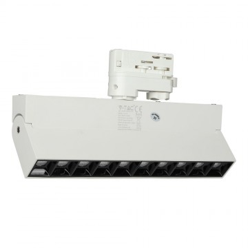 Foco de Carril Lineal 25W LED SAMSUNG Chip Blanco