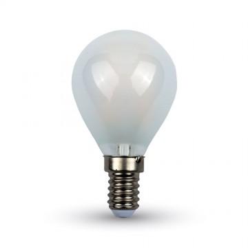 Bombilla LED 4W Filamento cruzado E14 P45 Frost