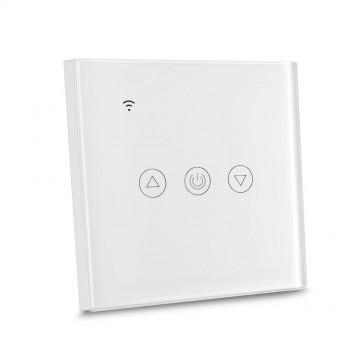 Interruptor táctil EU WIFI compatible con Amazon Alexa & Google Home cuerpo blanco