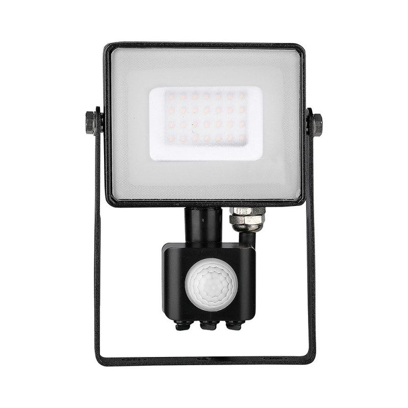 Proyector LED 30W con Sensor SAMSUNG Chip Cuerpo Negro VT-30-S-Proyectores LED-buyled.es