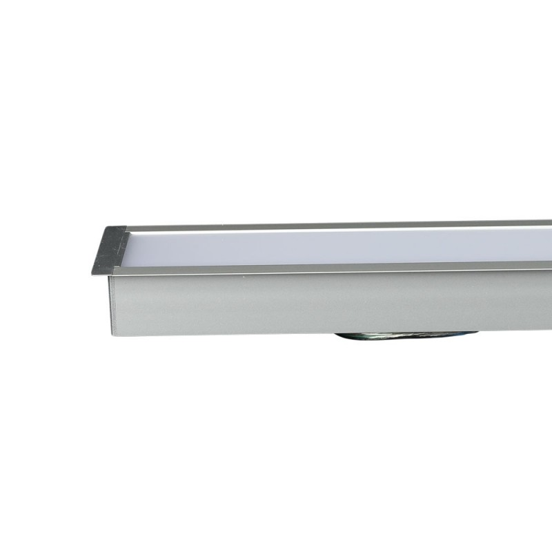 Luminaria Lineal Empotrable 40W LED SAMSUNG Chip Color Blanco VT-7-41-Downlight LED-buyled.es