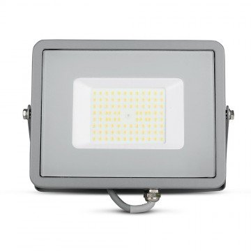 Proyector LED 50W SMD SAMSUNG Chip ultra SLIM Gris 120 lm/W