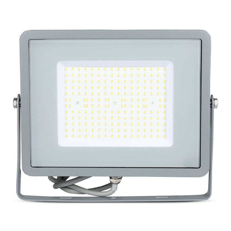Proyector LED 100W SMD SAMSUNG Chip Slim Cuerpo Gris 120 lm/W VT-106-Proyectores LED-buyled.es