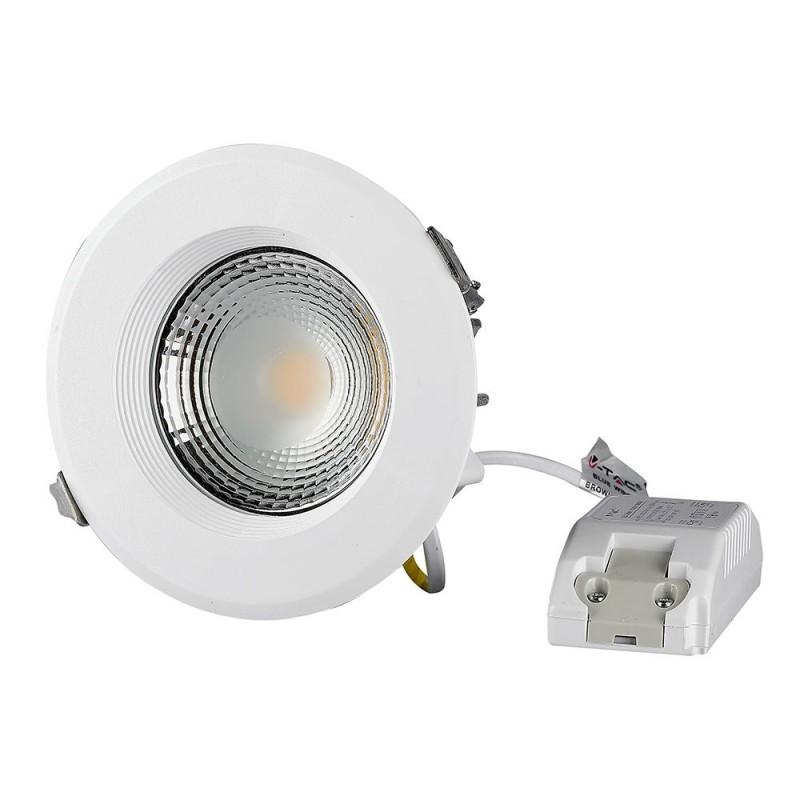 Downlight LED COB 30W Redondo A++ 120 lm/W VT-26301-Downlight LED COB-VTAC