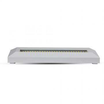 Baliza LED Escalera 3W Cuerpo Blanco Rectangular IP65