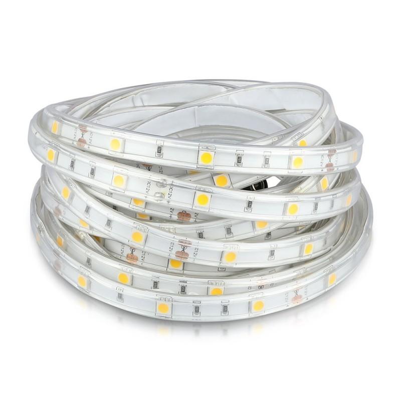 Tira LED SMD5050 - 30 LED Exterior IP65 VT-5050 IP65-30-Tiras de LED-VTAC