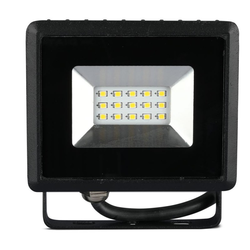 Proyector LED 10W SMD E-Series Cuerpo Negro