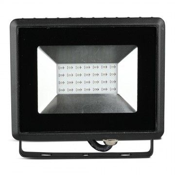 Proyector LED 20W SMD Serie E Cuerpo Negro luz azul IP67