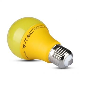Bombilla LED 9W E27 A60 Amarillo