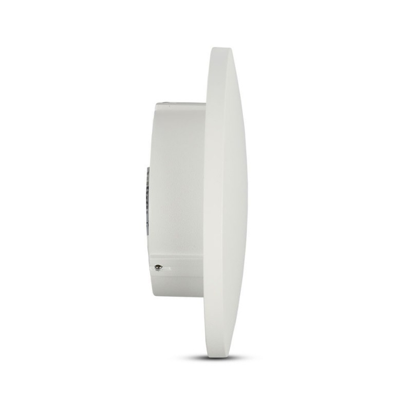 Aplique de Pared LED 9W Redondo Cuerpo Blanco BRIDGELUX VT-741-Apliques Pared-VTAC