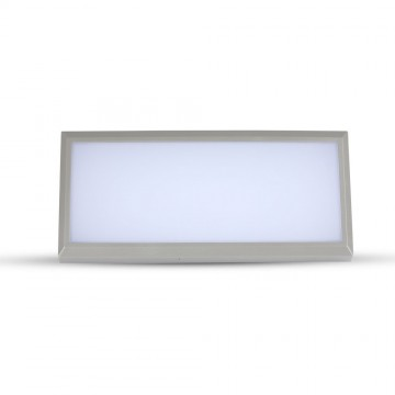 Aplique Pared exterior LED 12W Cuerpo Gris IP65