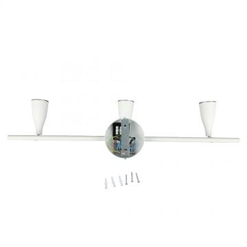 Aplique Techo LED 3 x 4.5W Cuerpo Blanco