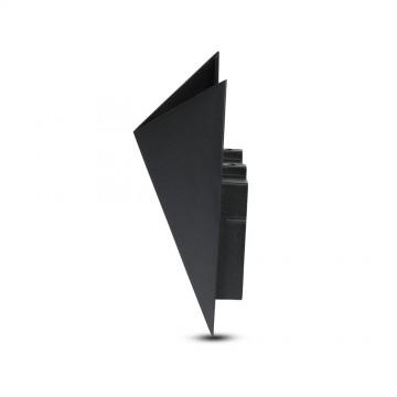 Aplique de Pared 5W UP Negro IP65