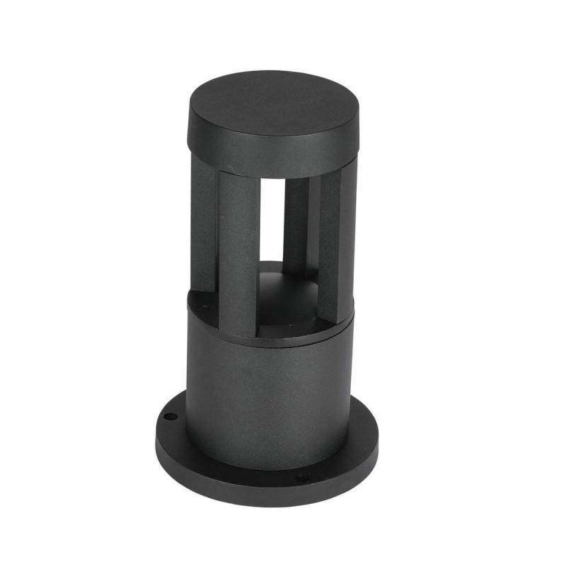 Baliza de Pie LED 10W Jardín Cuerpo Negro Altura 25cm