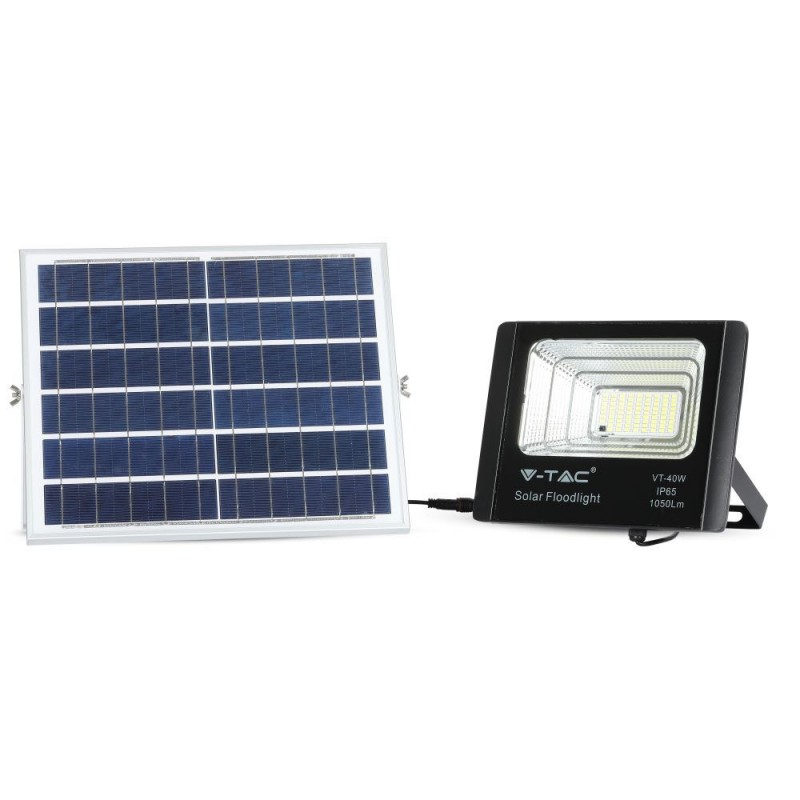 Panel solar 16W con proyector de LED