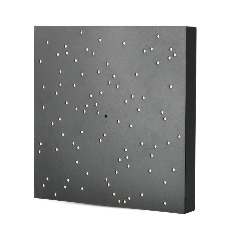 Panel de Diseño LED 8W cielo estrellado cambio de Colores Cuerpo Negro