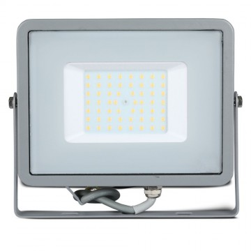 Proyector LED 50W SMD SAMSUNG Chip Cuerpo Gris