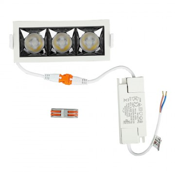 Downlight LED SAMSUNG Chip 12W SMD Reflector 12'D