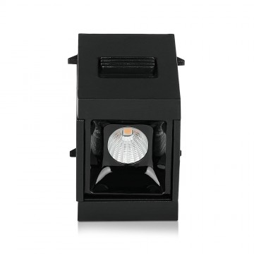 Spotlight Lineal Magnético 1W LED SMD Negro IP20 24V