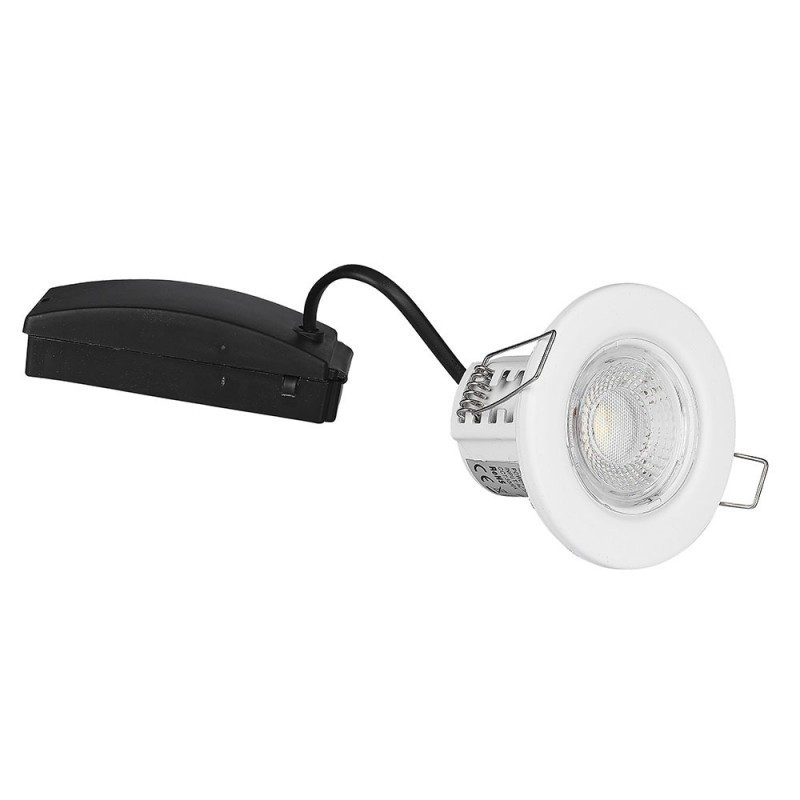 Downlight LED 5W SAMSUNG Chip protección contra el fuego Color Blanco VT-885-B-Downlight LED-VTAC