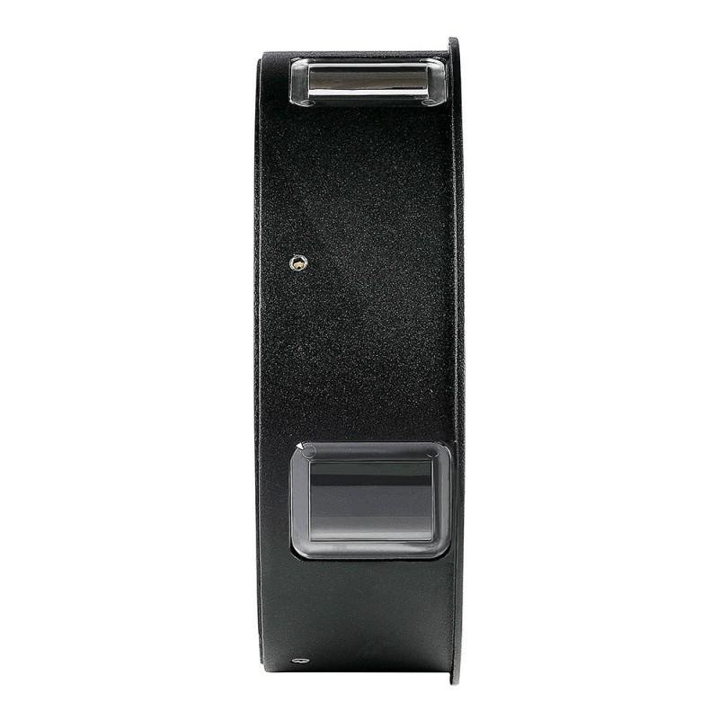 Aplique de Pared 4W Cuerpo Negro Redondo IP65 VT-706NR-Apliques Pared-buyled.es