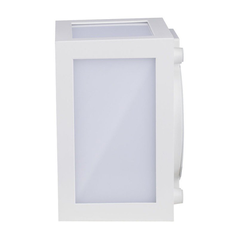 Aplique de Pared LED 12W Cuerpo Blanco IP65