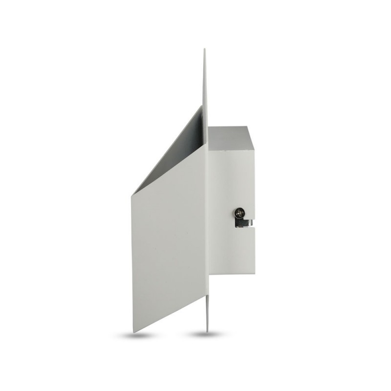 Aplique Pared Cubo 3D 3W Bridgleux Chip Cuerpo Blanco VT-803B-Apliques Pared-buyled.es