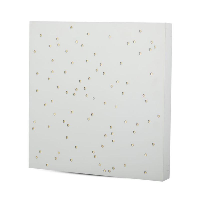 Panel de Diseño LED 8W cielo estrellado cambio de Colores Cuerpo Blanco