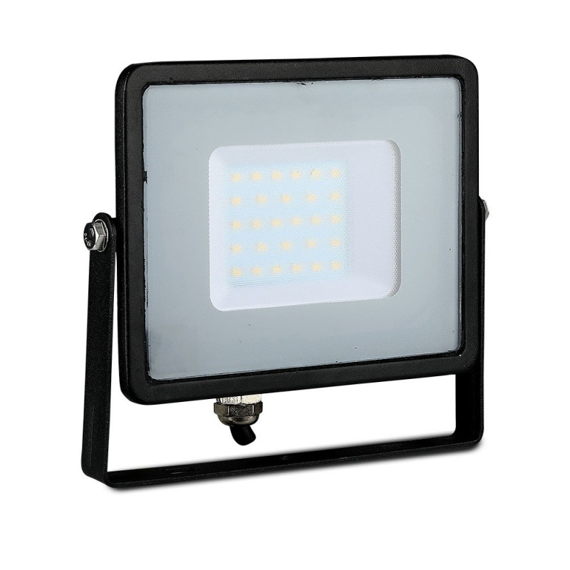 Proyector LED SMD 30W Chip SAMSUNG Cuerpo Negro