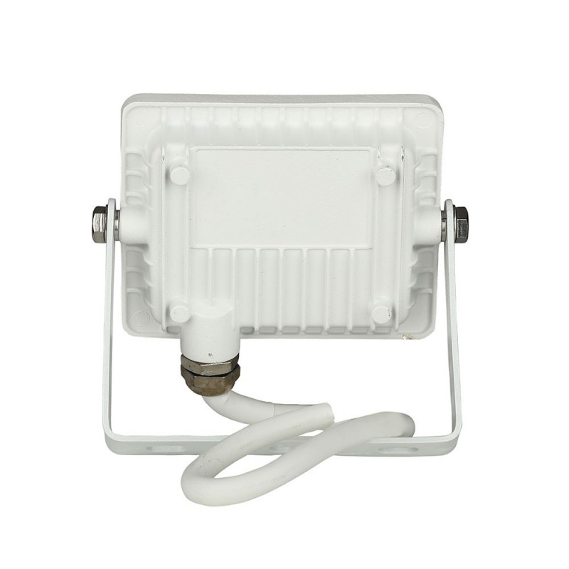Proyector LED 10W SMD SAMSUNG Chip Cuerpo Blanco VT-10-Proyectores LED-buyled.es