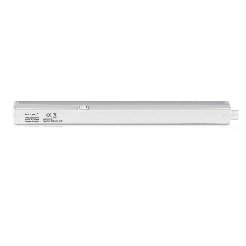 Regleta LED T5 7W SAMSUNG Chip 60cm VT-065-Tubos LED-VTAC