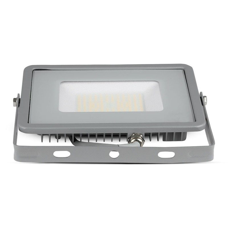 Proyector LED 50W SMD SAMSUNG Chip ultra SLIM Gris 120 lm/W VT-56-Proyectores LED-buyled.es