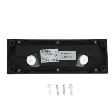 Baliza LED Escalera 3W Cuerpo Negro Rectangular IP65