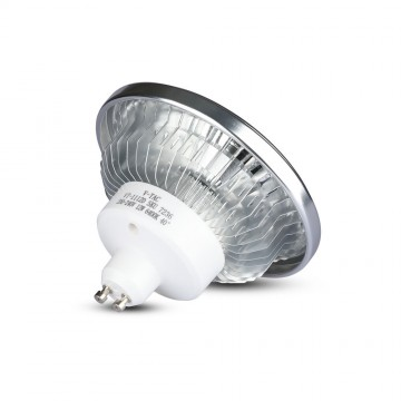 Bombilla LED AR111 12W GU10 Angulo de apertura 40 Sharp Chip