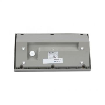 Aplique Pared exterior LED 20W Cuerpo Gris IP65