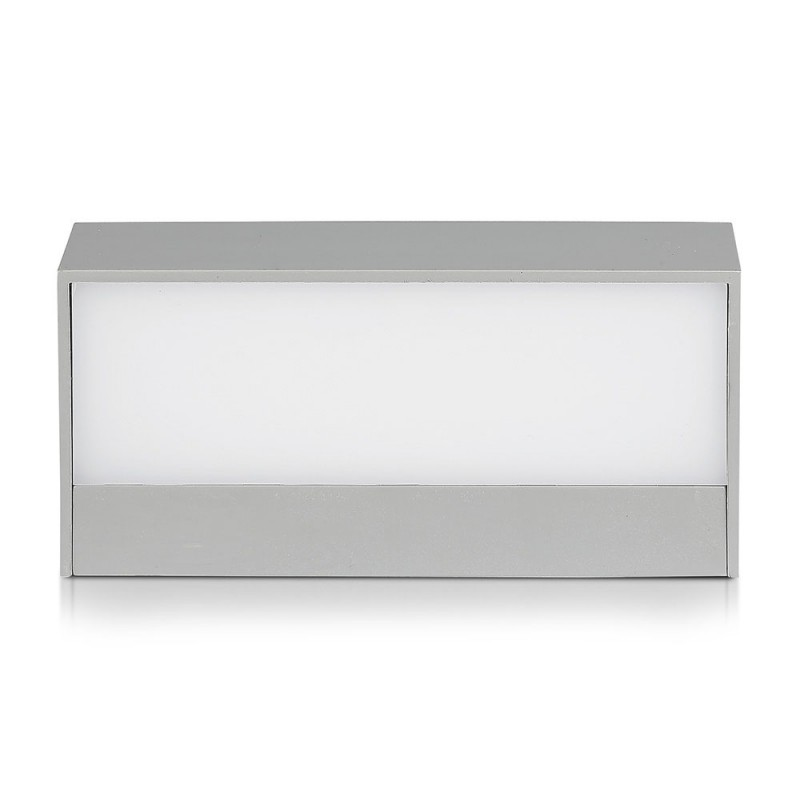 Aplique Pared exterior LED 9W UP-DOWN Cuerpo Gris IP65 VT-8056-Jardines y Piscinas-buyled.es