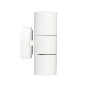 Aplique de Pared 2xGU10 Cuerpo de Blanco IP44