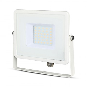 Proyector LED SMD 30W Chip SAMSUNG Cuerpo Blanco
