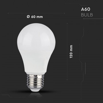 Bombilla de LED 10W E27 A60 SMART WIFI RGB + 2700K + 6400K SMART Home