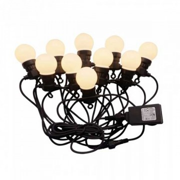 Guirnalda de luces LED 10m. 20 Bombillas x 0.5W 6000K Iluminación Decorativa