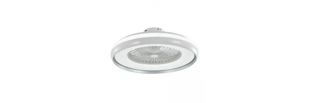 Plafones ventiladores: la ventilación natural e iluminación juntas