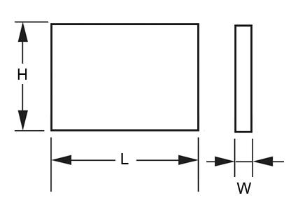 panel led 120x30