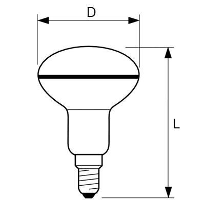 bombilla led r50